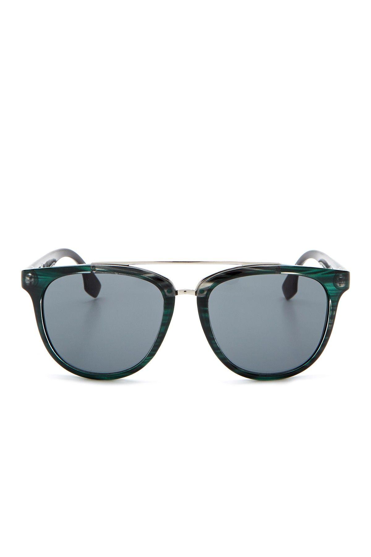 Women's Double Bridge Plastic Aviator Sunglasses by BCBG on @HauteLook
