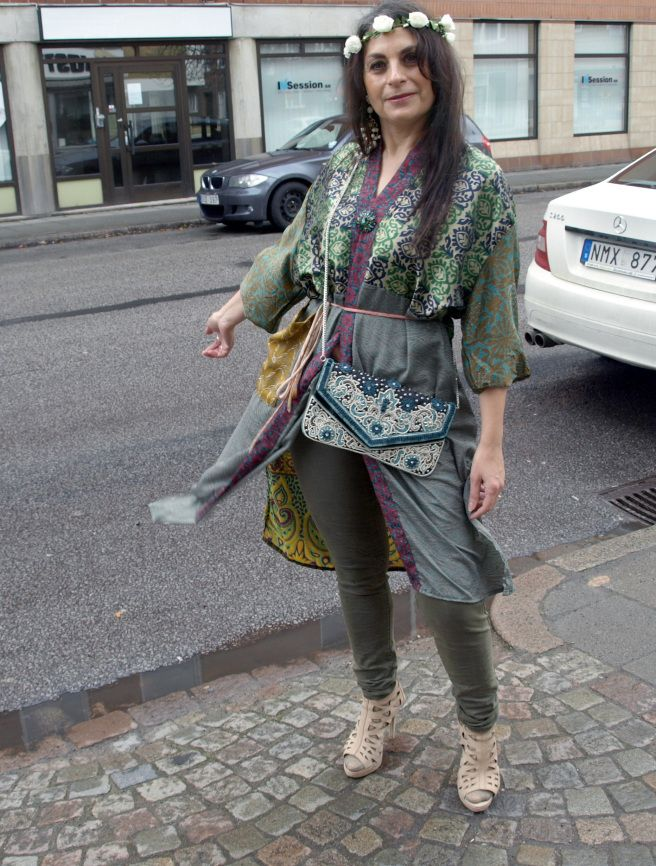Photo of Boho Chic i grønne nyanser