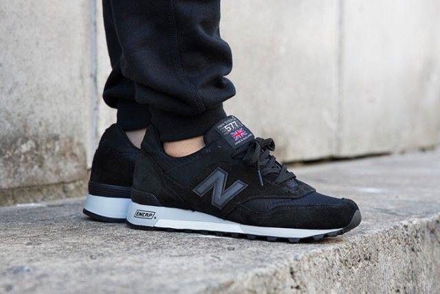 new balance 577 made in uk black