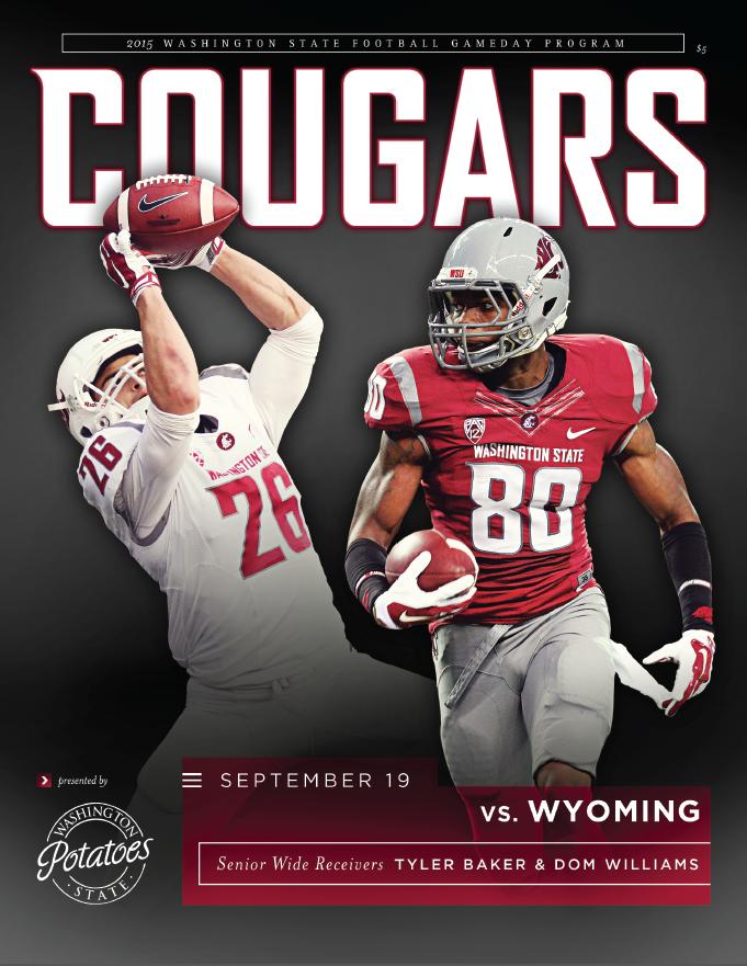 The 2015 wsucougars Football Gameday Program vs. Wyoming