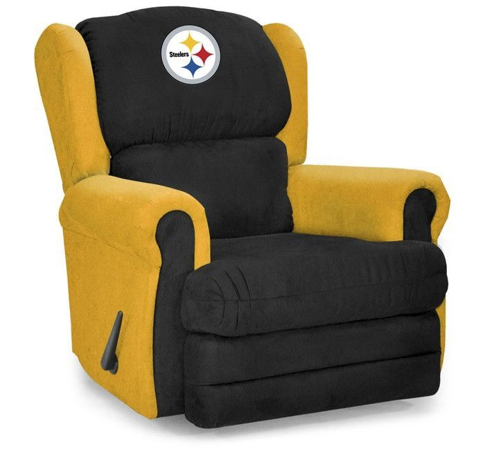 Pittsburgh Steelers NFL Coach Rocker Recliner | Nfl coaches Recliner and Rockers  sc 1 st  Pinterest & Pittsburgh Steelers NFL Coach Rocker Recliner | Nfl coaches ... islam-shia.org