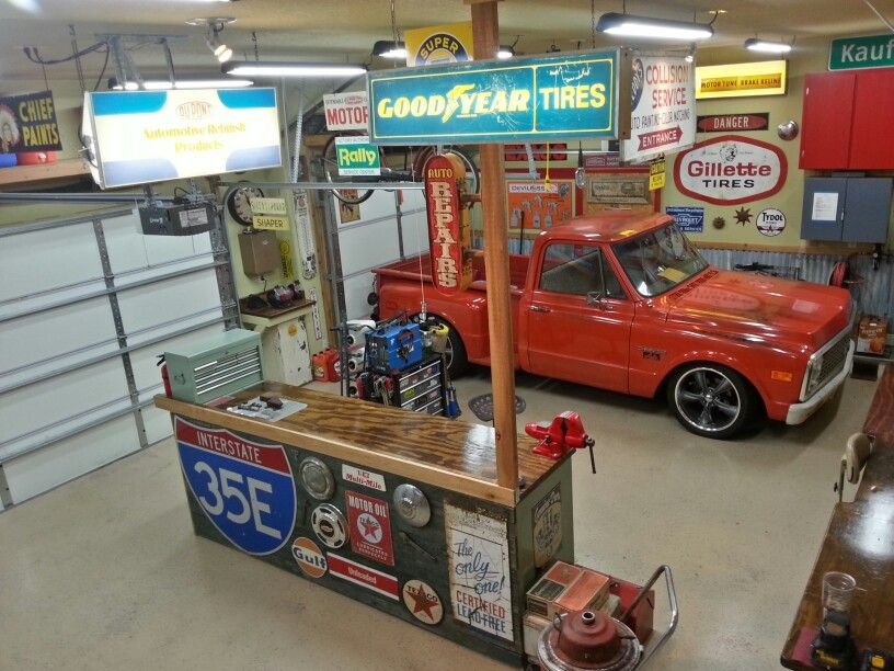 Vintage Garage Garage Design Overhead Garage Storage Garage Storage