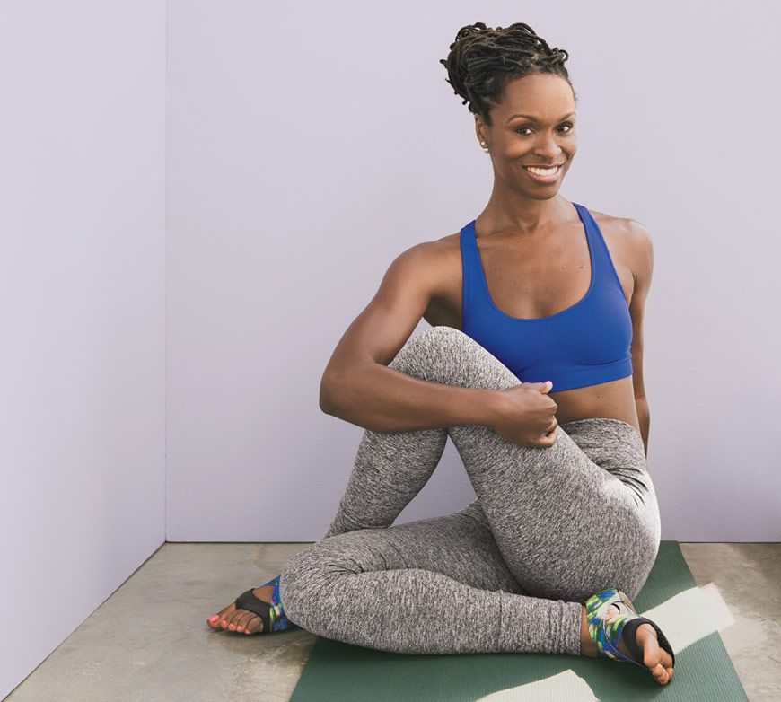 3 Yoga Poses Latham Thomas Aka Mama Glow Loves Yoga Poses Top Yoga Poses Yoga Poses For Beginners