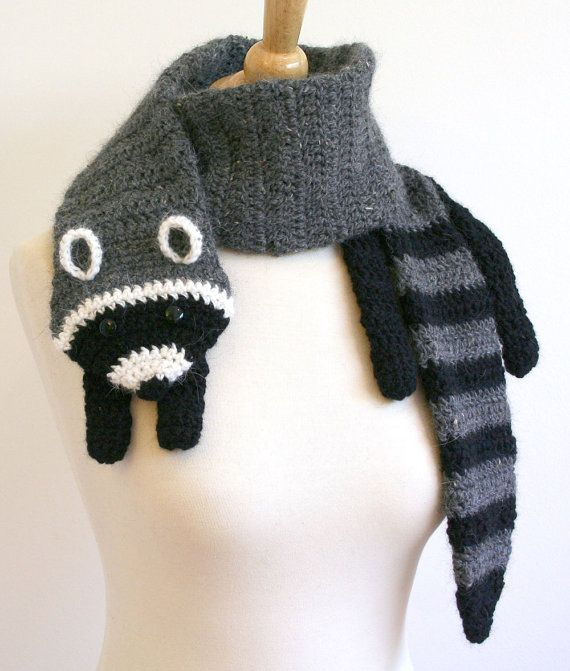 Crochet animal scarves | Crochet | Pinterest | Moda otoño invierno ...