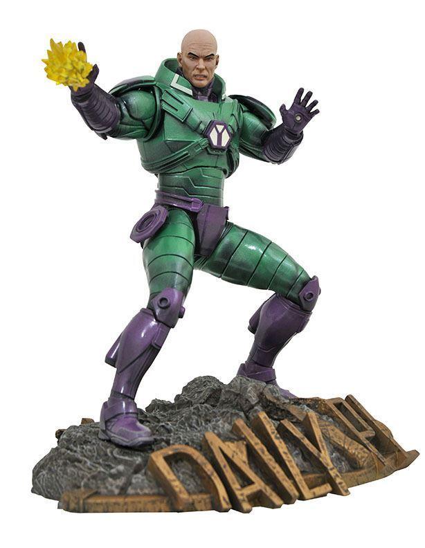 Dc Comic Gallery Lex Luthor Pvc Diorama Nn2d Statue Review Dc Gallery Lex Luthor Diamond Select Lex Luthor Dc Comics Statue