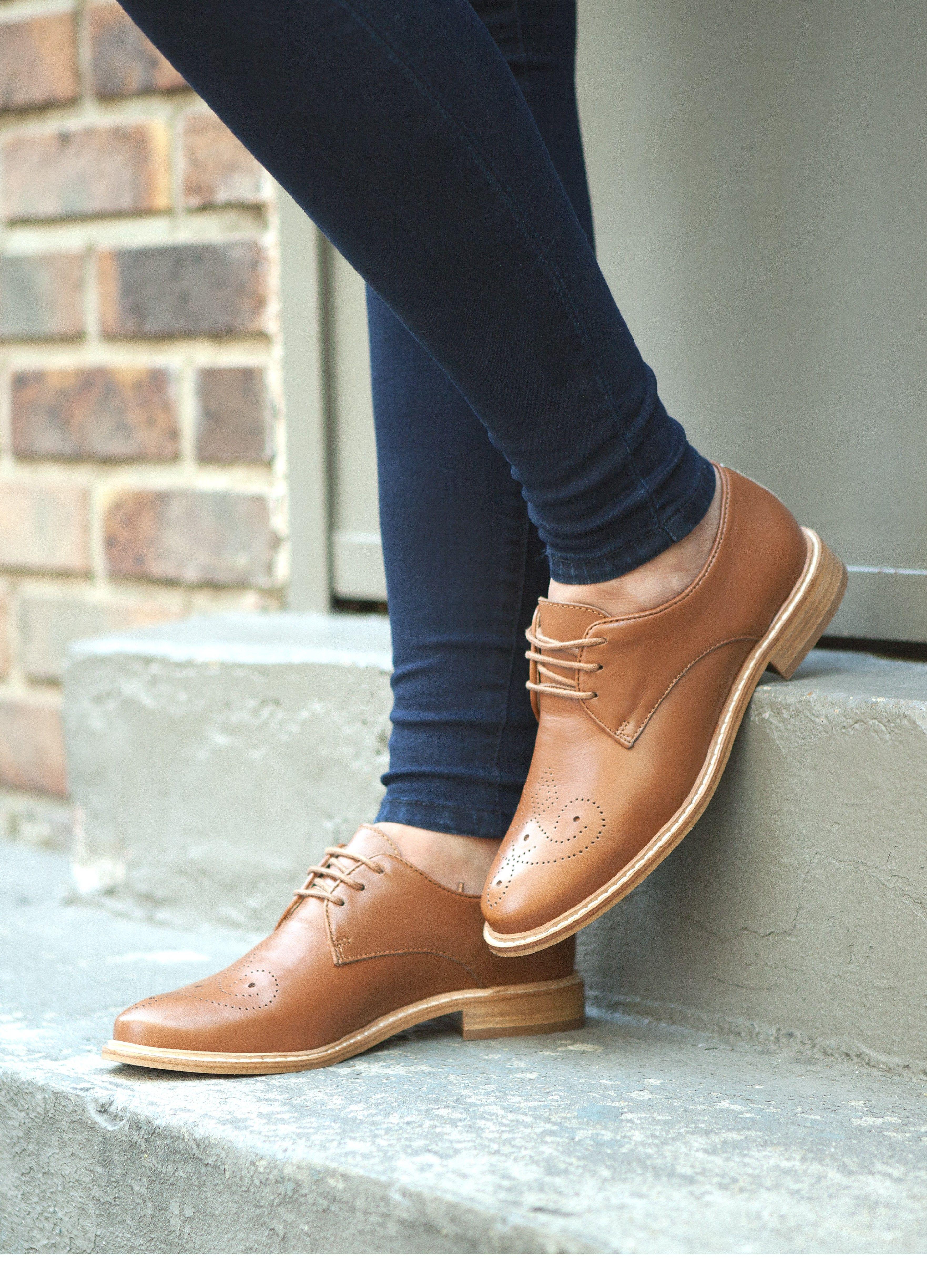 derby tillusion camel - derby & mocassins - chaussures femme