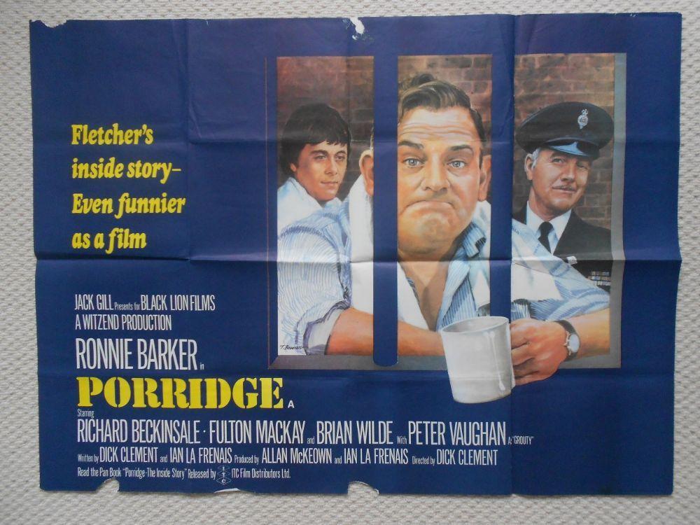 Porridge Ronnie Barker Poster