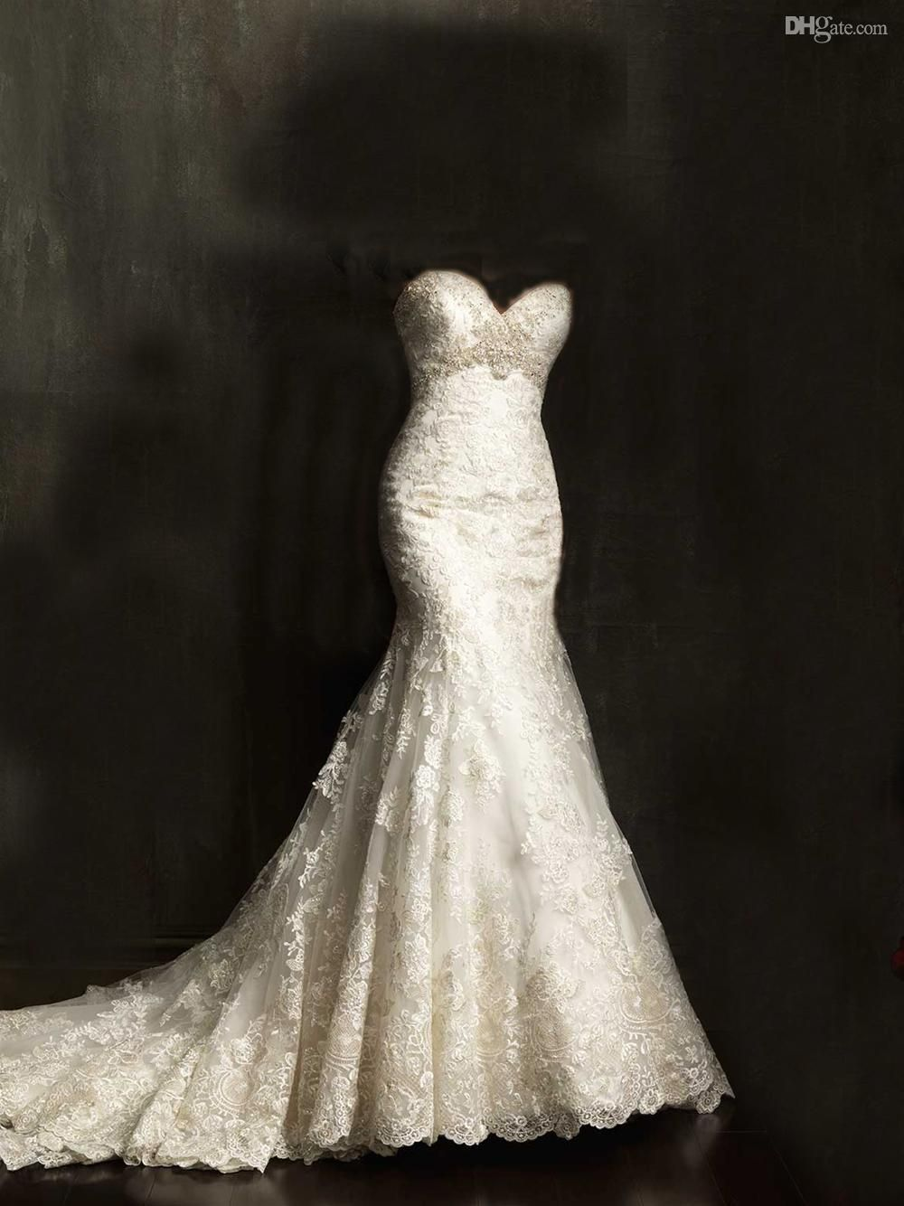 Wholesale mermaid wedding dresses buy gorgeous swarovski