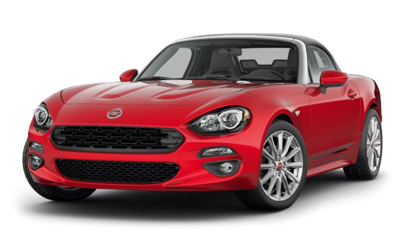 Fiat will be selling 2017 Fiat 124 Spider just in two trims, Classica, and Lusso. Obviously, Classica means Classic, and the Lusso represents