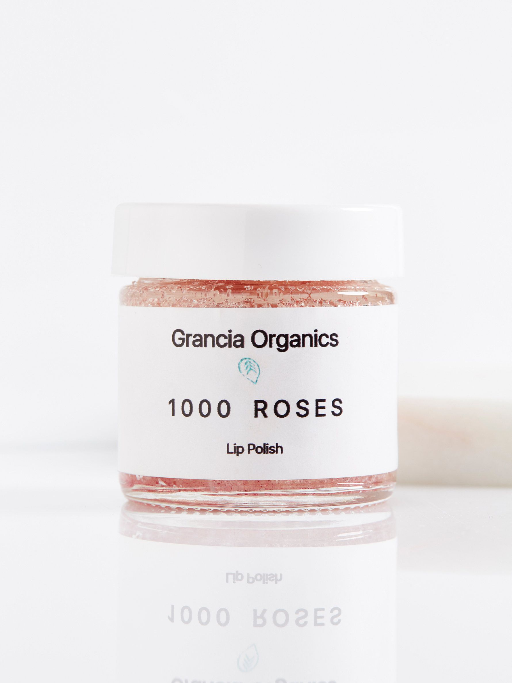 1000 Roses Lip Polish   **Grancia Organics**    Gently exfoliate lips with this all-natural, organic lip polish created in California for your healthiest pout. Crafted from a blend of shea butter, rose petals and virgin coconut oil to moisturize and hydrate lips while leaving them smooth and oh-so-lush.    * 1 oz.   * Intended for all skin types.   * **How to Use:**  For smoothing and softening your lips, scoop out a small amount of the 1000 rose petals lip polish. Apply to your lips and…