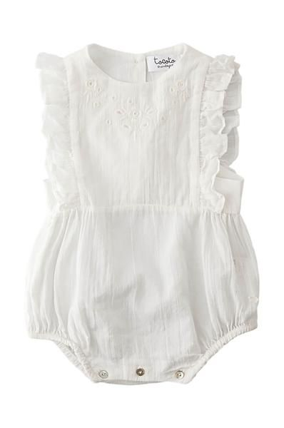 352262292ce Tocoto Vintage Baby Body embroidered