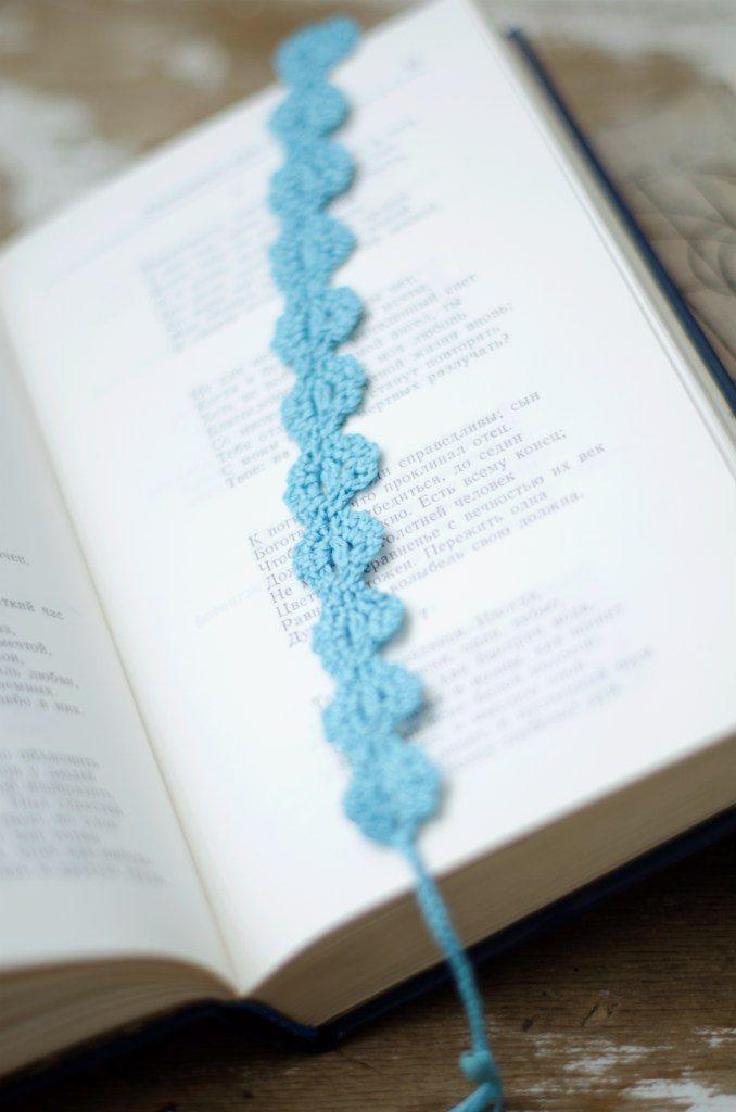 crochet bookmark | Hækling | Pinterest | Separador de libros, Libros ...