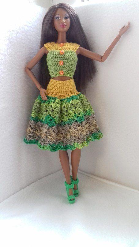 Pin von Gisela Noemi auf barbies   Pinterest   Barbiekleidung ...