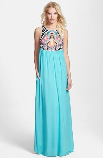 474839587d69 Mara Hoffman  Cosmic Fountain  Embroidered Maxi Dress