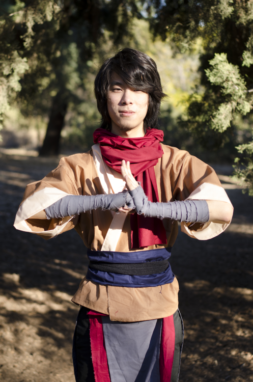 lazinoch:  Wan cosplay Photography by Lance Raava and fire/air...