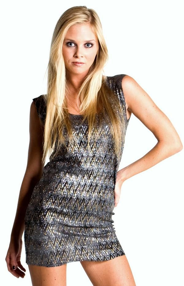 Shop Kami Shade Plus Size Couture Chic Grey Silver Sparkle
