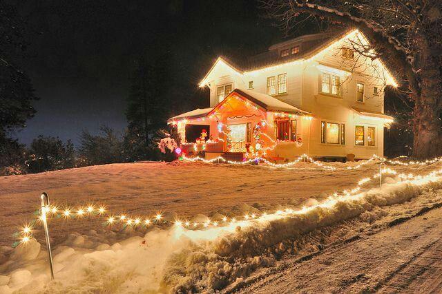 Christmas Snowglobe Wishes Pinterest Holidays and Christmas lights