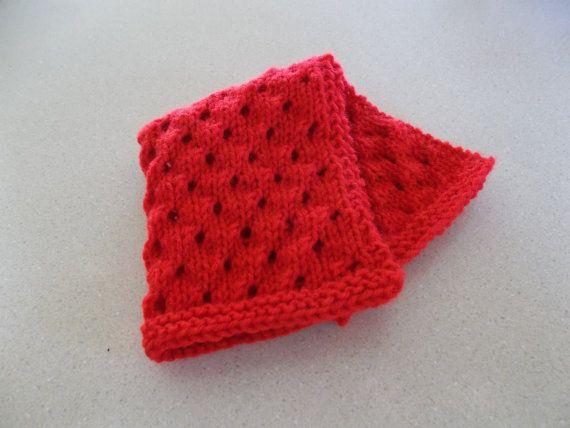 Custon Order Red Doll Blanket by DelsYarnBasket on Etsy, $6.50