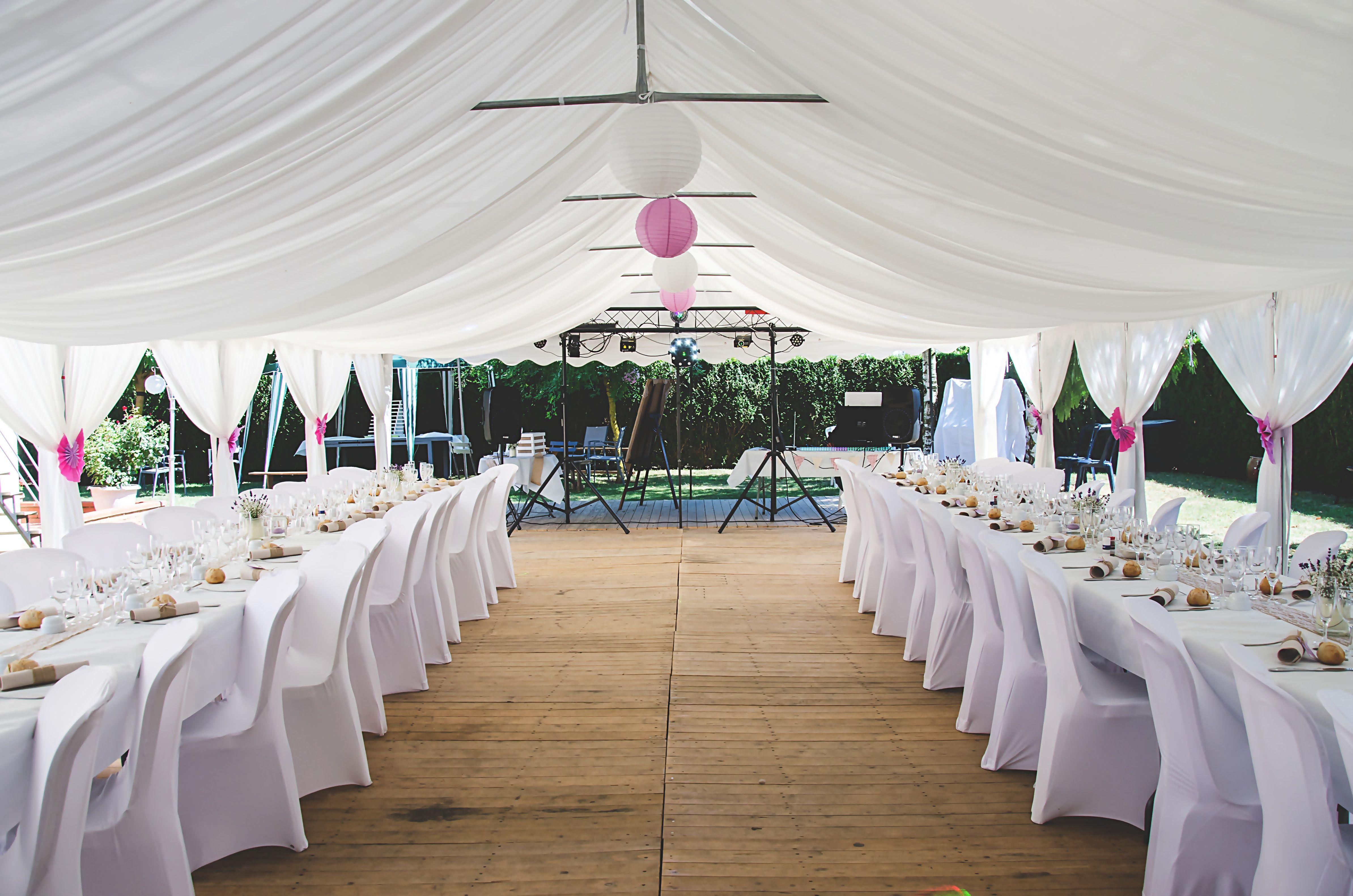 Organiser son repas de #mariage dans son jardin possède de ...