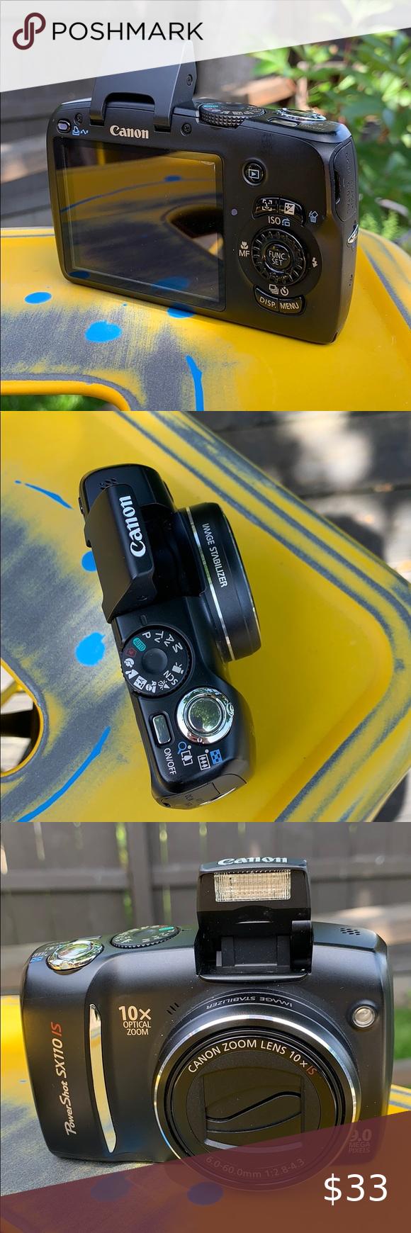 Canon Powershot Camera Sx110 Is Powershot Camera Canon Powershot Camera Powershot