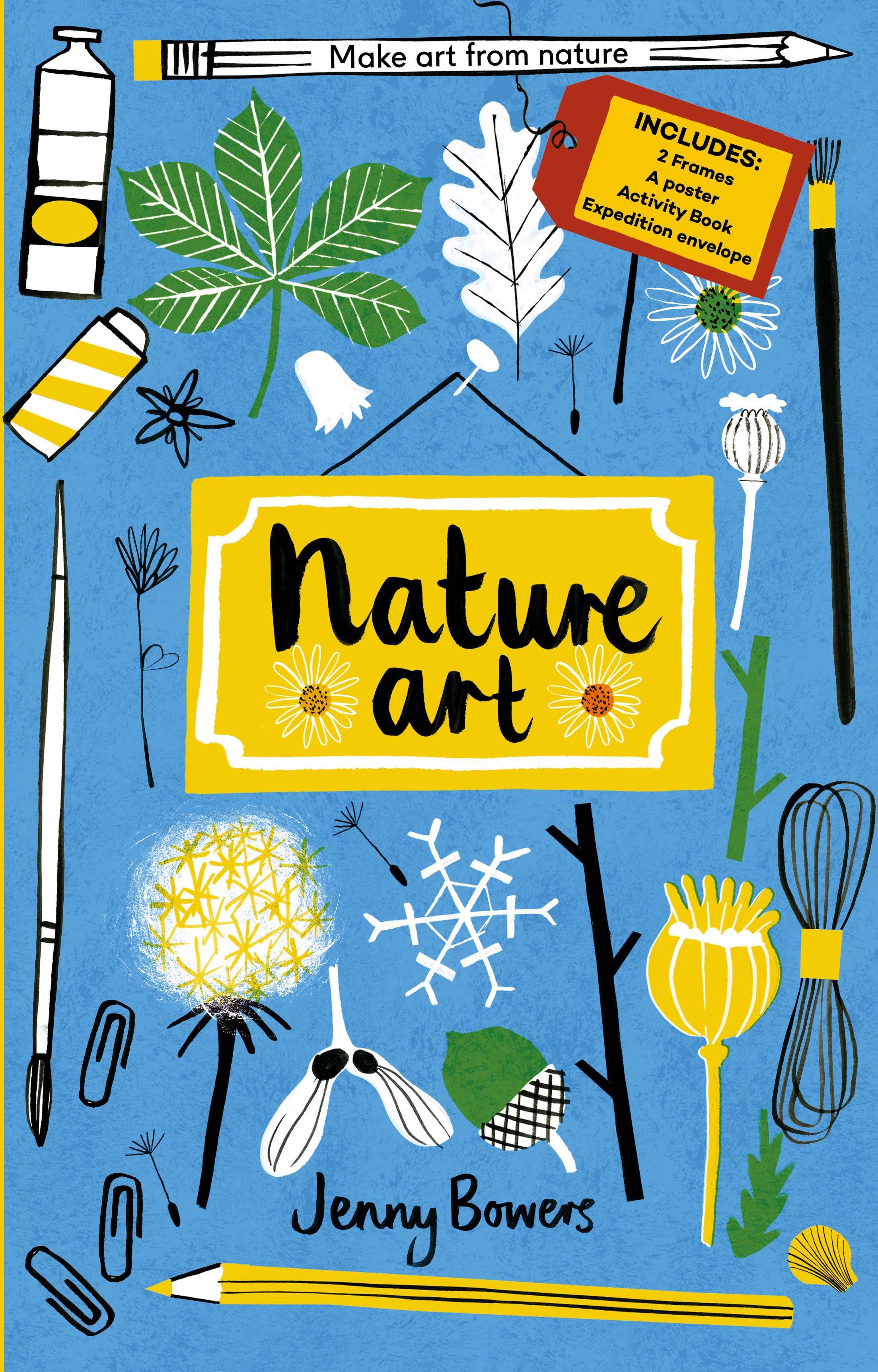 Little Collectors Nature Art By Jenny Bowers (Frances Lincoln Childrens