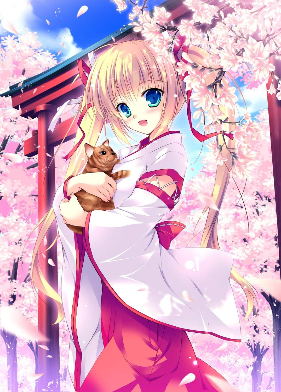 Anime girl cute blonde anime girl cute blonde anime - Cute anime girl pictures ...