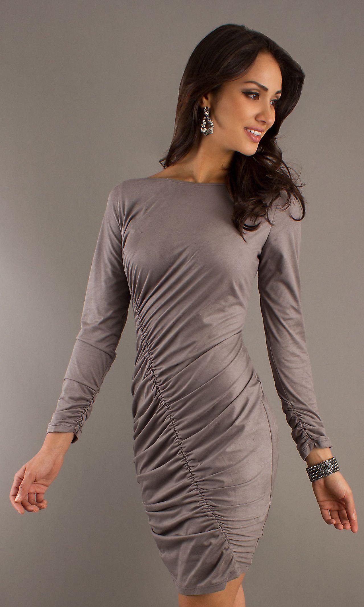 Short long sleeve dress juga style dresses pinterest