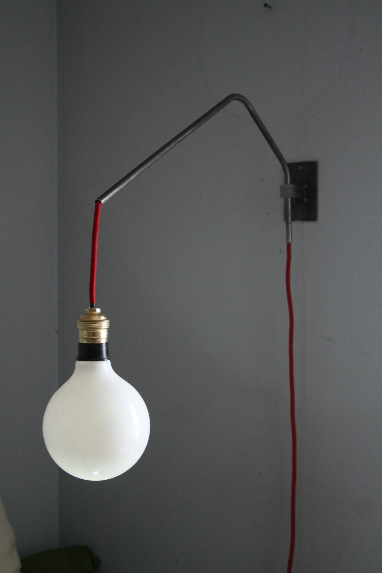 Super nU ' Lampe en applique metal brut inspiration Loft / Atelier 50's  GE08