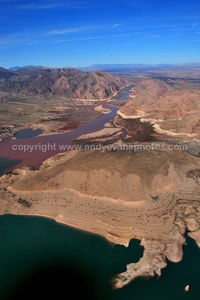 Lake Mead Arizona Nevada America landscape photograph picture poster print photo