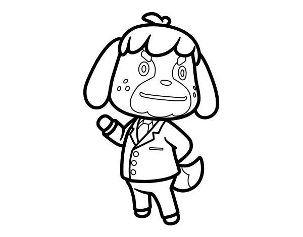 Animal Crossing Coloring Pages 1 Animal Crossing Coloring Pages Coloring Book Pages