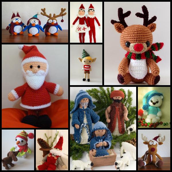 Amigurumis Navidad Crochet : Amigurumis navide�os ganchillo crochet pinterest