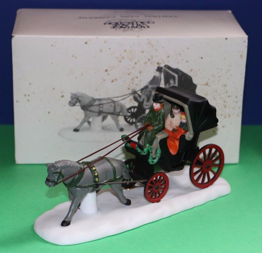 56 Christmas In The City Accessory Central Park Carriage CIC 59790 Babescollectibles