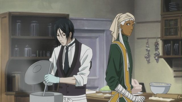 Black Butler ~~ Agni and Sebastian are really cooking!