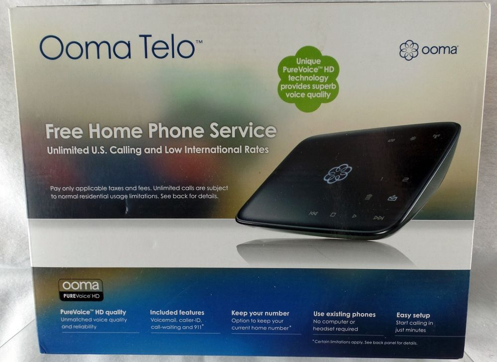 Ooma Telo Free Home Phone Service Discontinued by Manufacturer