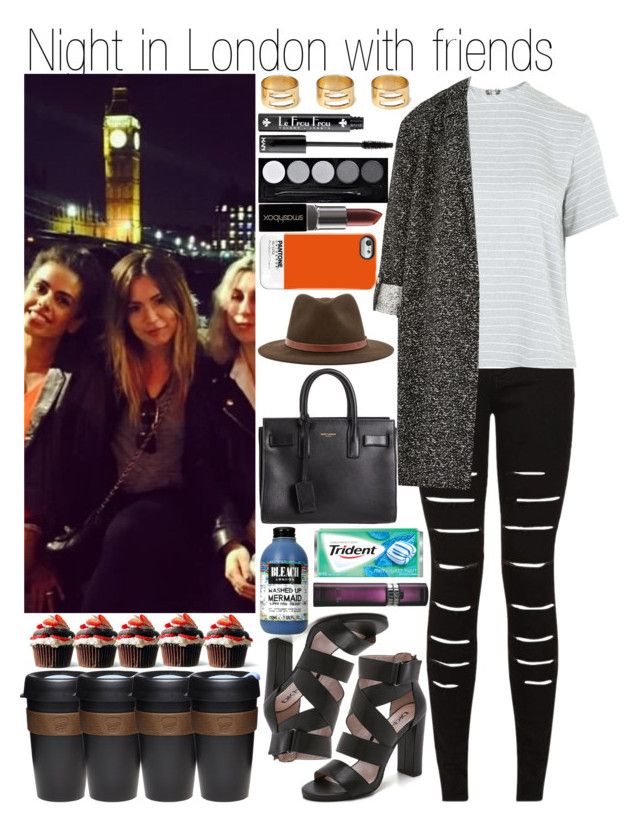 """""""Night in London with friends"""" by linusya-badoeva ❤ liked on Polyvore featuring art"""