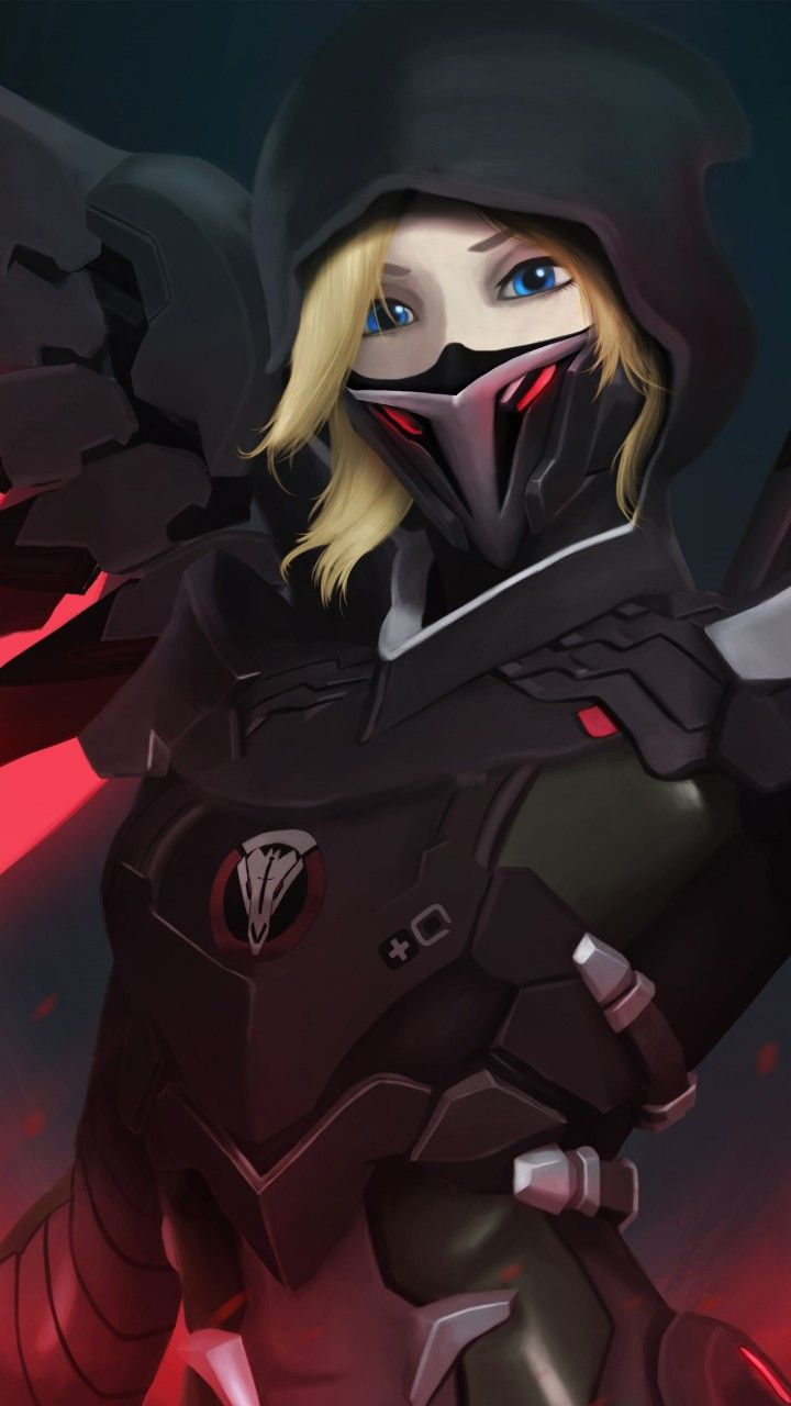 I M Guessing This Is The Talon Version Of Mercy Anime Pinterest