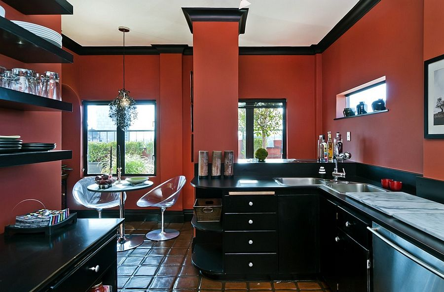 Trendy Decor From Philippe Starck Bubble Club Chair Eros Gnome Interesting Kitchen Design Red And Black Review