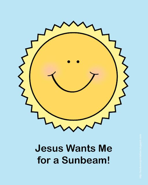 Sunbeam Printables Craft Helps And Ideas Great Schedule Too