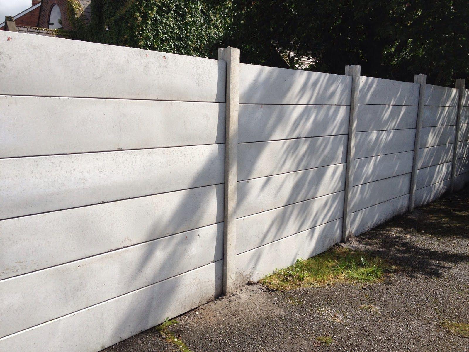 Regal Concretes Scunthorpe Concrete Fence Fence Design Fence Landscaping