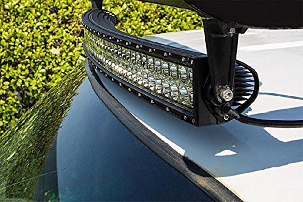 Shanren 50 288w 12v curved cree led light bar flood spot combo bea shanren 50 288w 12v curved cree led light bar flood spot combo beam 4x4 atv 4wd suv ute rating 415 stars 220 customer reviews aloadofball