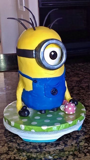 Minion Cake Kevin padicakes Pinterest Minion cakes Cake and