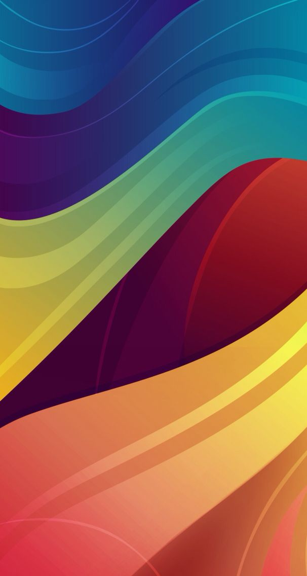 Solid Rainbow Wallpaper Background With Images Phone
