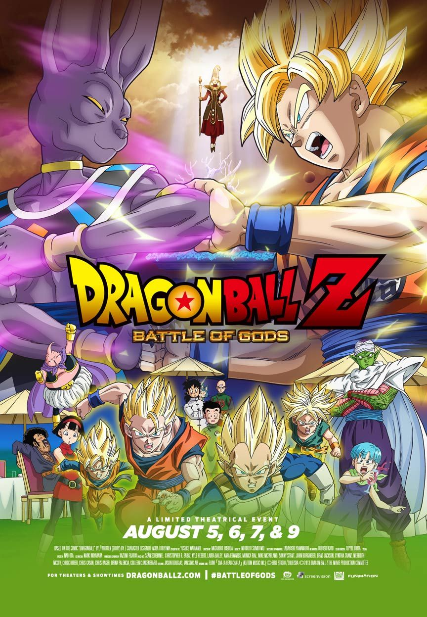 3430bd077 Dragon Ball Z: Battle of Gods Poster loved it brought back so many memories