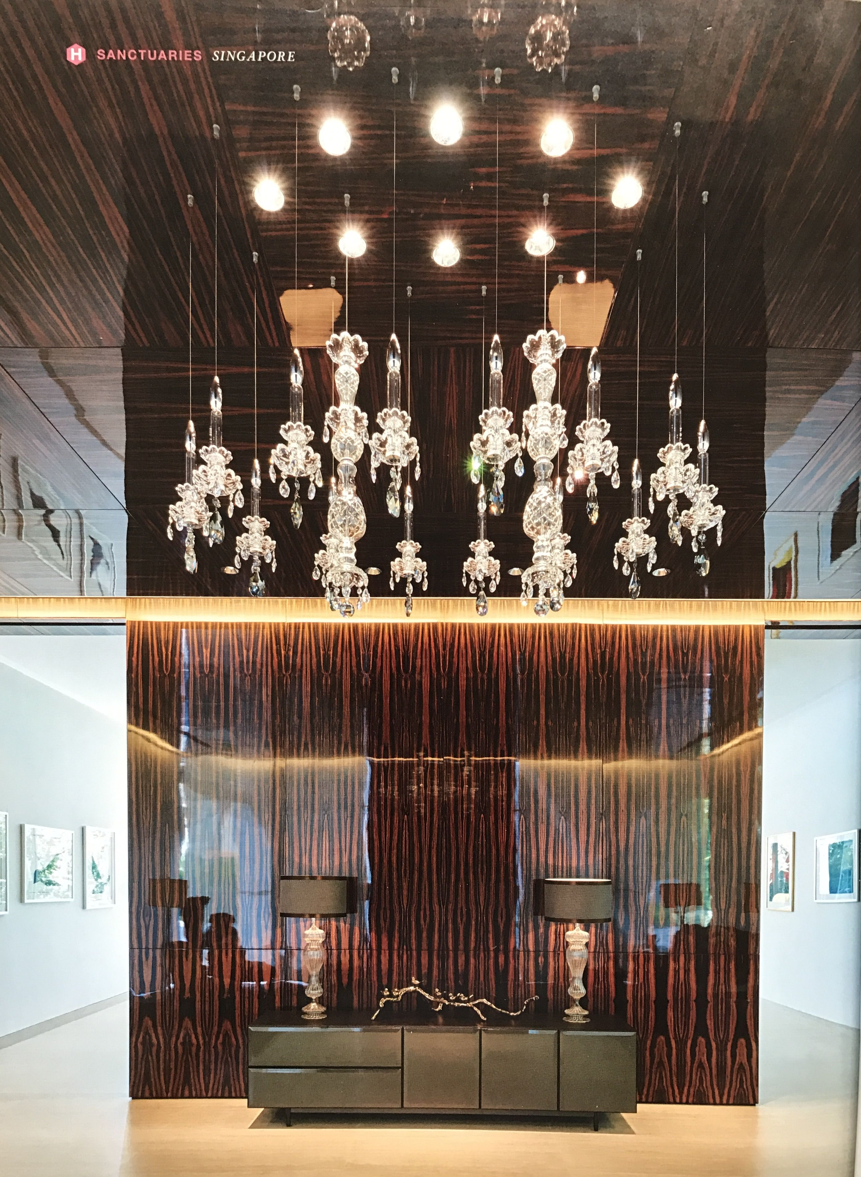 WINDFALL Chandeliers - The Balance in Singapore Tatler Homes