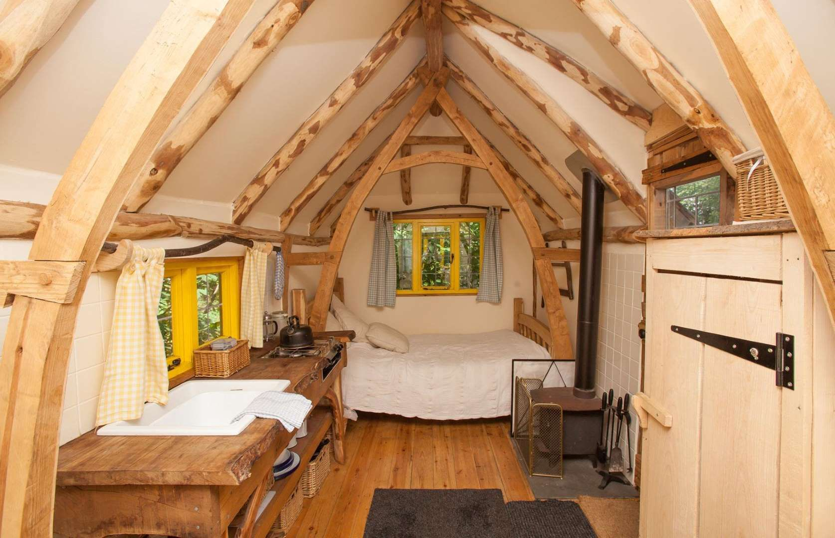 The Inside Of The Woodcutter S Cottage Is Straight Out Of