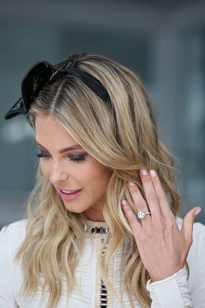 Australian Beauty Jen Hawkins Stunning Engagement Ring