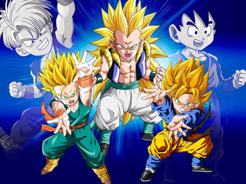 Wallpaper Gotenks Ssj3 Dragon Ball Super Manga Dragon Ball Art Dragon Ball