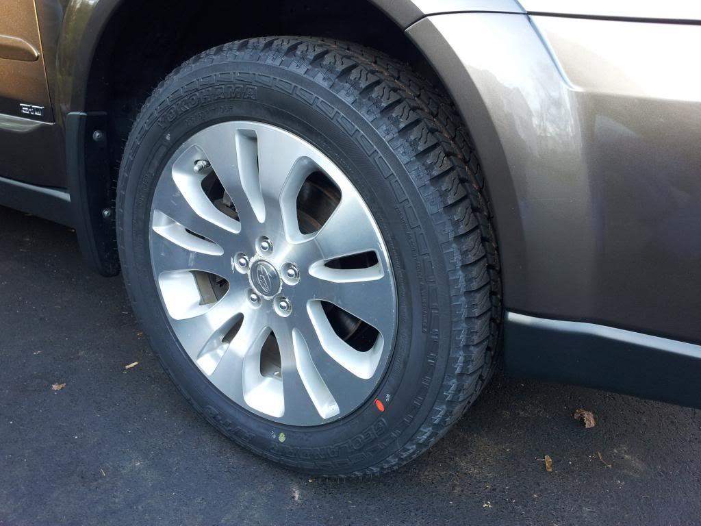 All terrain tires for 2008 Outback Basic - Subaru Outback - Subaru ...