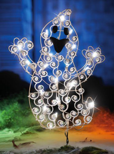 lovable light up ghost outdoor halloween decoration collections etc httpsmileamazon - Light Up Halloween Decorations