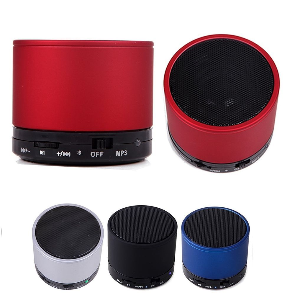 Portable Bluetooth Wireless Mini Bass Stereo Speaker MP3 Player For Phone Laptop